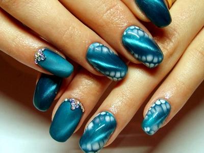 Красивый Дизайн Ногти Модные Тенденции